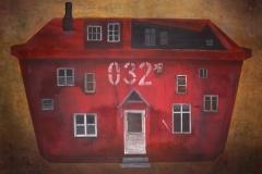D.O.M. dostarczyciel oczekiwanej miłości, 100x140 cm, akryl na płótnie, 2009