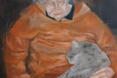 Przedostatni sen, 100x80 cm, akryl na płótnie, 2012
